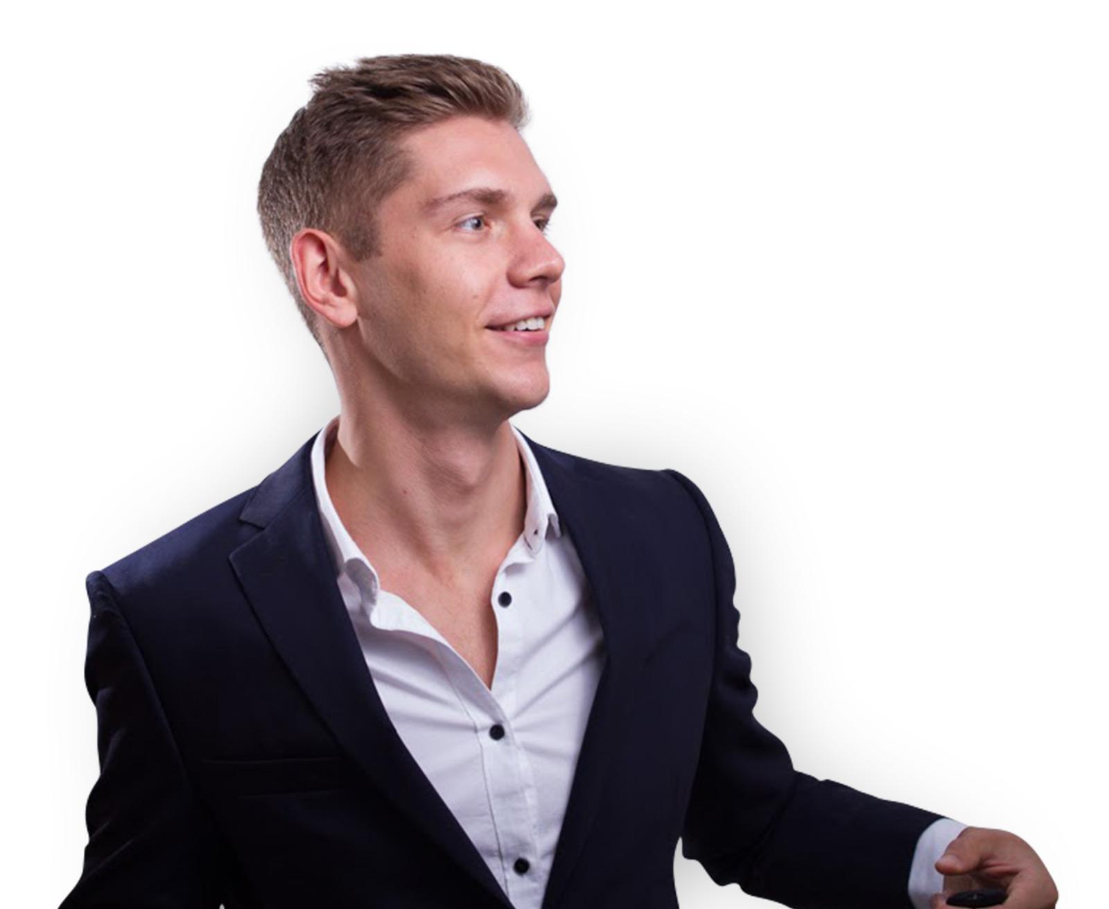 Portrait Partnerunternehmen Maximilian Wolf