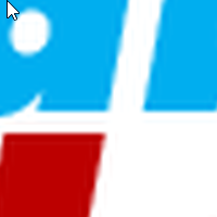 Logo im PNG-Format vergrößert